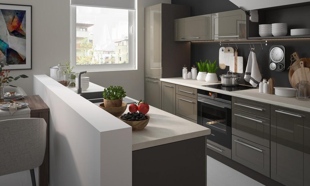Virtuves iekārtas mazām virtuvēm: izvēles un izkārtošanas padomi