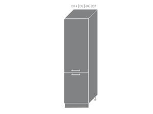 Skapis iebūvējamajam ledusskapim Violet D14/DL/60/207