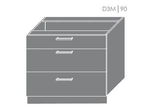Apakšējais skapītis Violet D3M/90