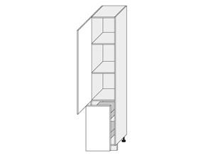 Virtuves skapītis White 2D14K/40+cargo