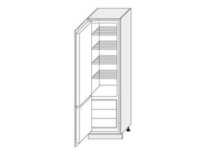 Skapis iebūvējamajam ledusskapim White D14/DL/60/207