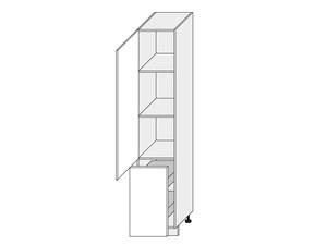 Virtuves skapītis Beige mat 2D14K/40+cargo