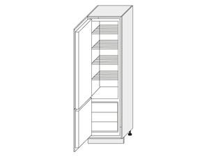 Skapis iebūvējamajam ledusskapim Beige mat D14/DL/60/207