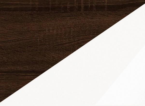 Sonoma tumšs / Balts pulēts