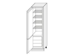 Skapis iebūvējamajam ledusskapim Vanilla mat D14/DL/60/207