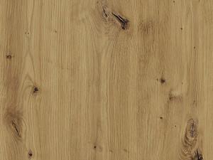 Augšējais vitrīnas skapītis Black Pine W4BS/80 LAM