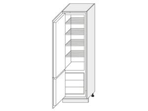 Skapis iebūvējamajam ledusskapim Dab Zloty D14/DL/60/207