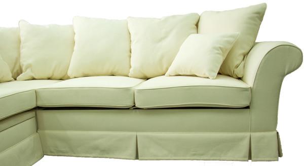 Stūra dīvāns izvelkams ID-11037