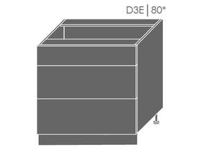 Apakšējais skapītis Violet D3E/80
