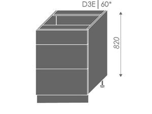 Apakšējais skapītis Violet D3E/60