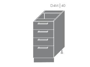 Apakšējais skapītis Heban D4M/40