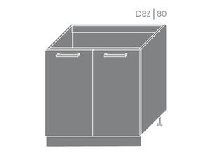 Zemizlietnes skapītis Heban D8Z/80