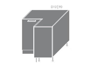 Apakšējais stūra skapītis Heban D12/90