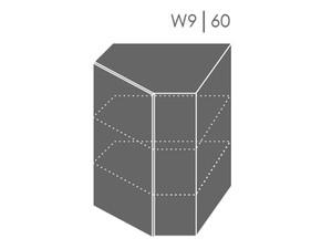 Augšējais stūra skapītis Heban W9/60