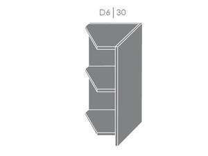 Apakšējais skapītis Heban D6/30 L,P