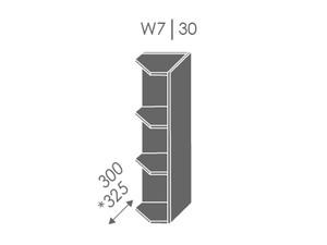 Augšējais skapītis Heban W7/30