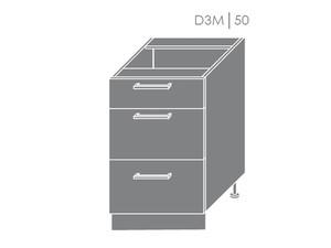 Apakšējais skapītis Heban D3M/50