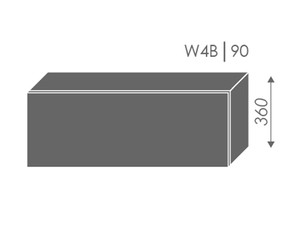 Augšējais skapītis Heban W4B/90