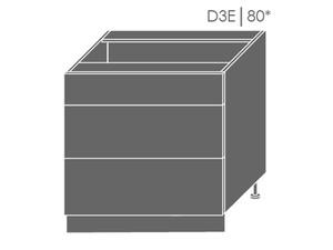 Apakšējais skapītis Heban D3E/80