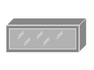 Augšējais vitrīnas skapītis W4BS/90 MDF