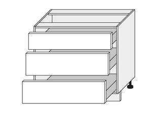 Apakšējais skapītis White mat D3M/90