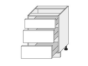 Apakšējais skapītis White mat D3E/60