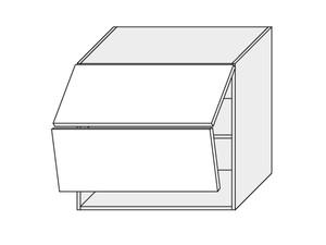 Augšējais skapītis White mat W8B/80 AVENTOS
