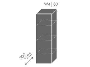 Augšējais skapītis Heban W4/30
