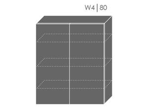 Augšējais skapītis Heban W4/80