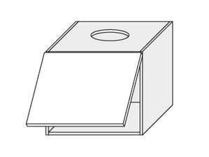 Augšējais skapītis tvaika nosūcējam Grey Stone Light W8/60