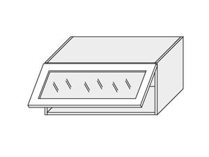 Augšējais vitrīnas skapītis Grey Stone Light W4BS/80 WKF