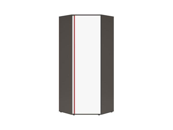 Tungsten pelēks / Balts  / Sarkans
