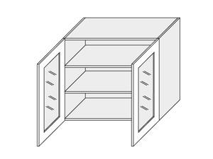 Augšējais vitrīnas skapītis Florence W3S/90