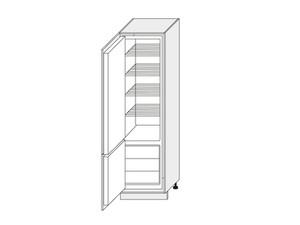 Skapis iebūvējamajam ledusskapim Florence D14/DL/60/207 L