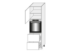 Virtuves skapītis Florence D14/RU/2M 356 P