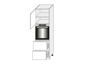 Virtuves skapītis Florence D14/RU/2M 356 L