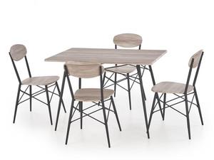 Galds + 4 krēsli Kabir