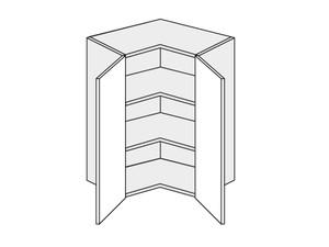 Augšējais stūra skapītis Mint W12/60