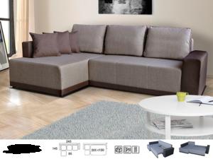 Stūra dīvāns Fado