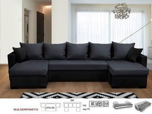Stūra dīvāns izvelkams Avanti