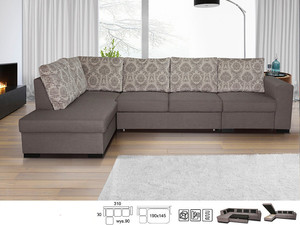 Угловой диван Lisbona LX2R1