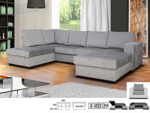 Stūra dīvāns izvelkams Lisbona LX2rLC