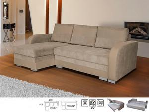 Stūra dīvāns Lund L/P