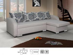 Stūra dīvāns Santana L/P