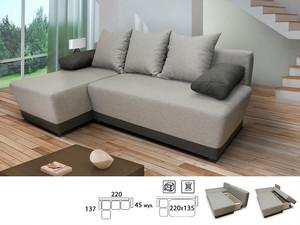 Stūra dīvāns Diarado