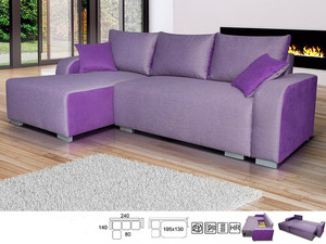 Stūra dīvāns Rollo