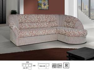Stūra dīvāns Finny 2LC