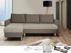 Stūra dīvāns Bragi I