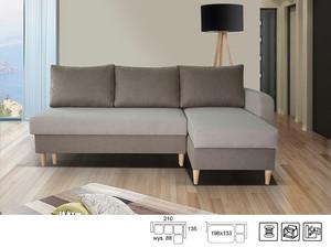 Stūra dīvāns Luzio