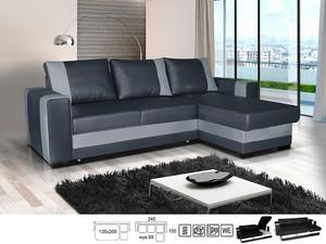 Stūra dīvāns Amos P/L